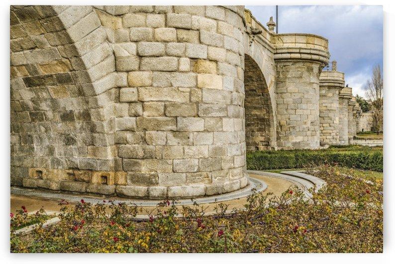 Segovia Bridge at Madrid, Spain by Daniel Ferreia Leites Ciccarino