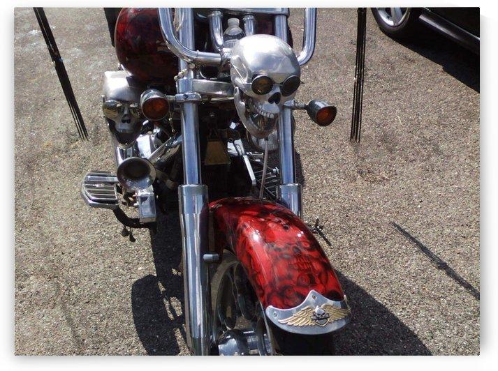 Skull bike  by pyro