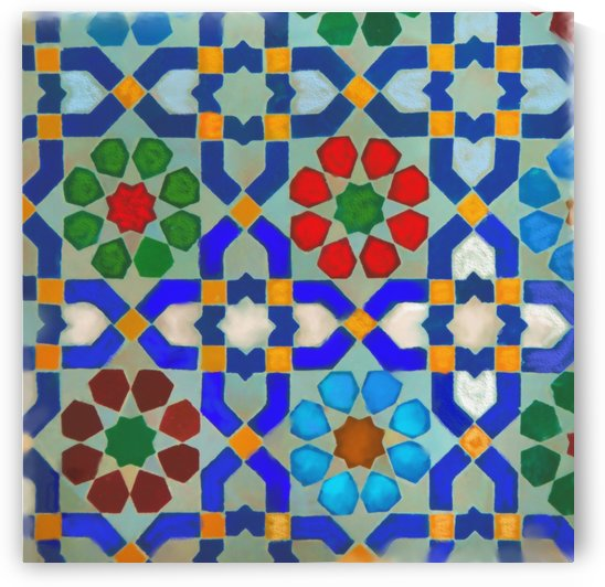 MOROCON TILES  1 by S Seema Z