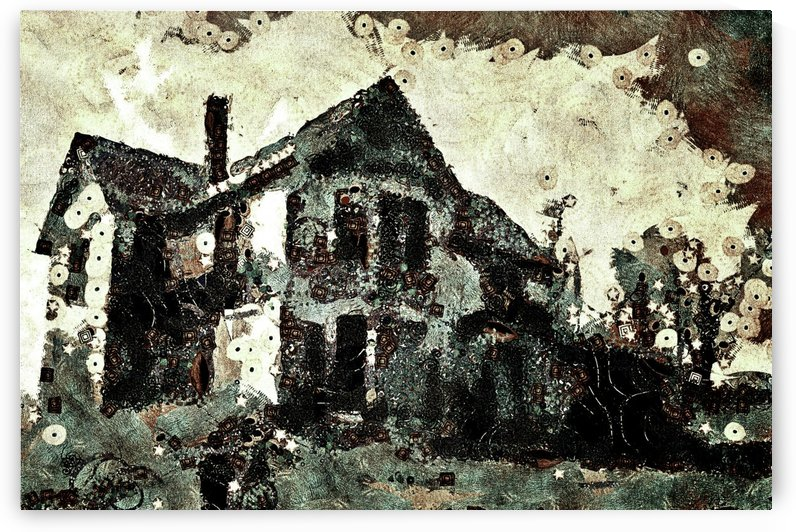 Haunted candy house by dale burkett