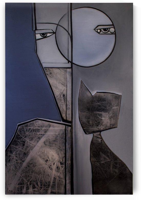 Moon by RAYMOND NYLUND