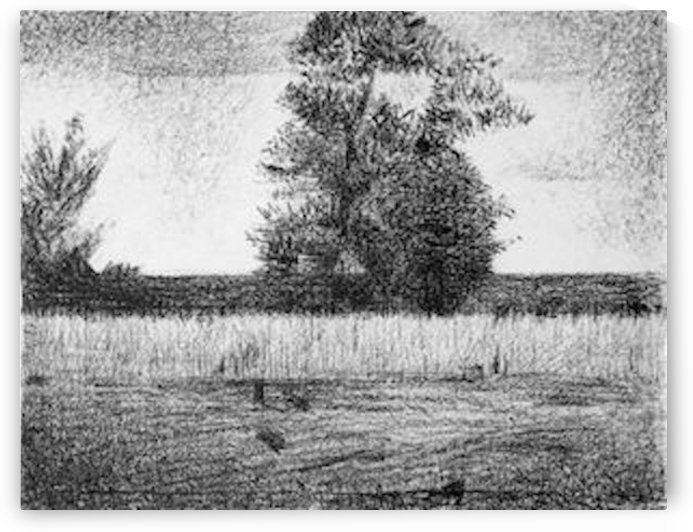 The trees by Seurat by Seurat