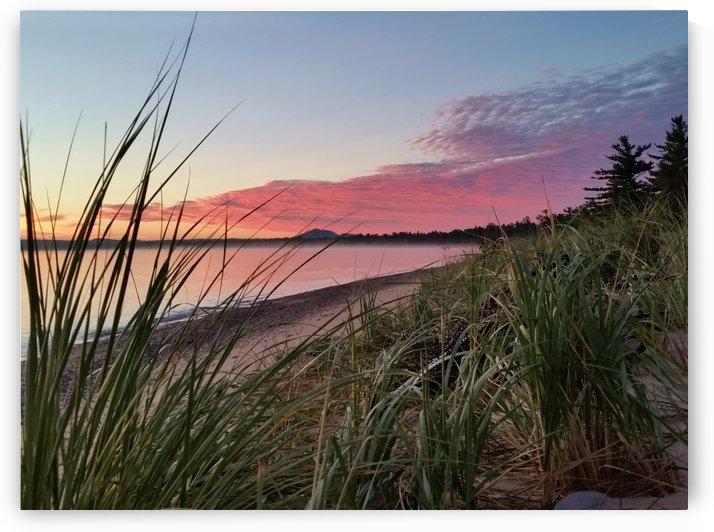 Lake Michigan Sunrise by William Parlin