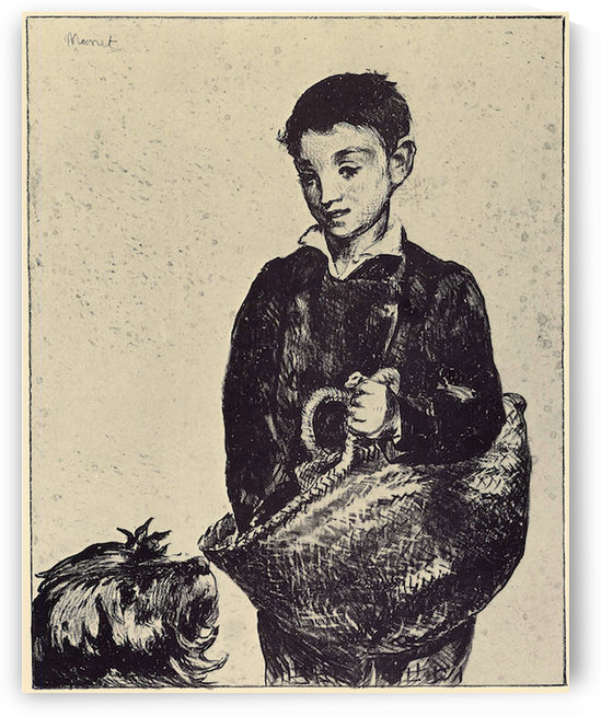 The urchin by Manet by Manet