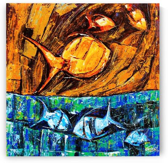 Flow Of Dreams-1 by Gurdish Pannu