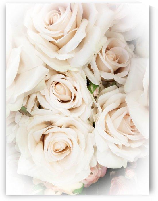 White Roses by Yuliya Marusina