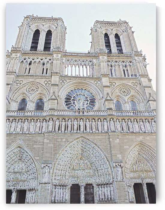 Notre Dame & Details by Jessica Toth