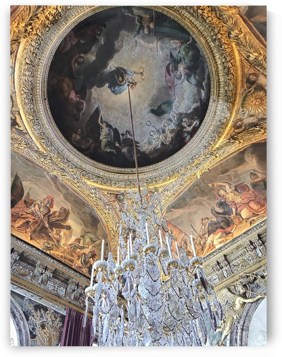 Versailles & Chandelier  by Jessica Toth