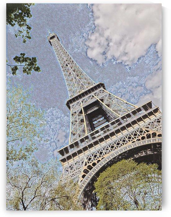 Cerulean & Eiffel by Jessica Toth