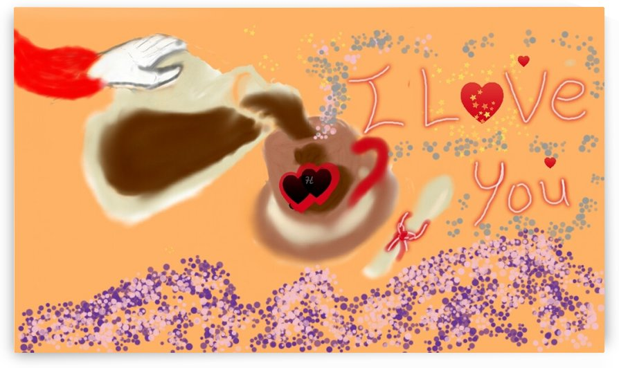 Love coffee by Hager Ahmed Abdelrahim