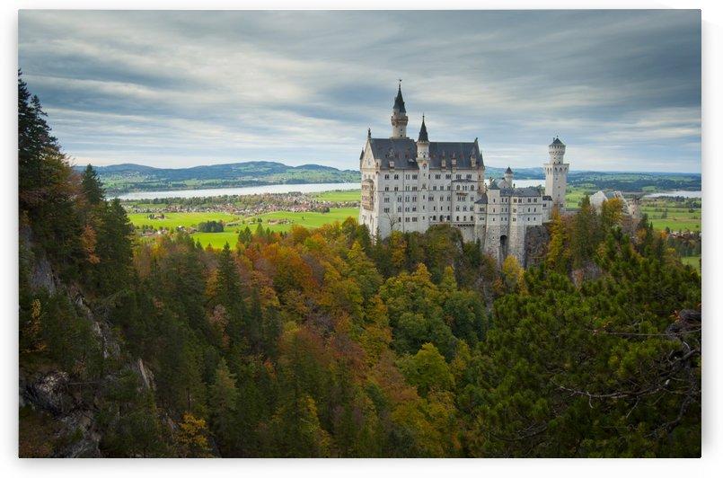 Fairytale Castle - Neuschwanstein by Rohan Valvekar