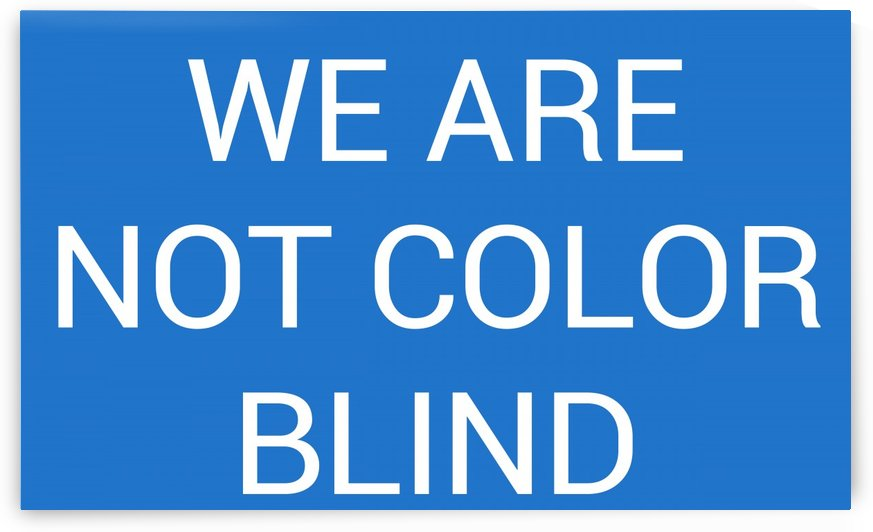 WE ARE NOT COLORBLIND by lenie blue