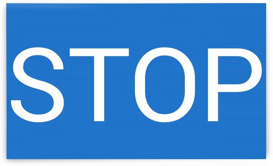 STOP by lenie blue