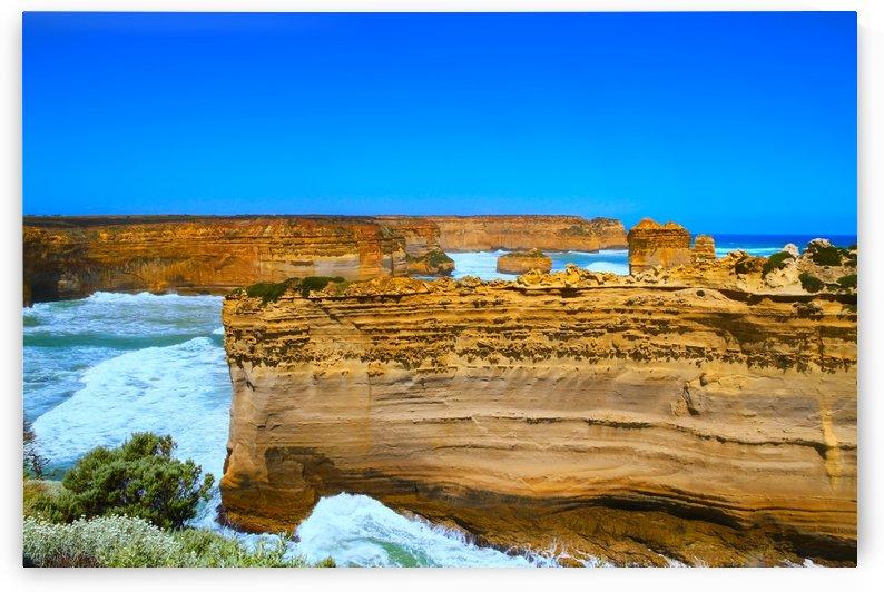 The Razor Back on the Great Ocean Road in Australia B010200_1005018 by Maxwell Jordan