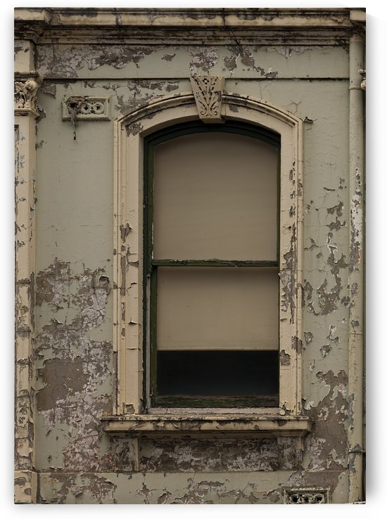 Window in a Wall with Flaking Paint B011201_1406898 by Maxwell Jordan