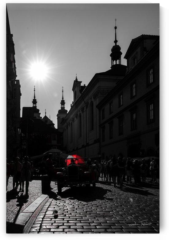 Le parapluie rouge by Sophie Thibault