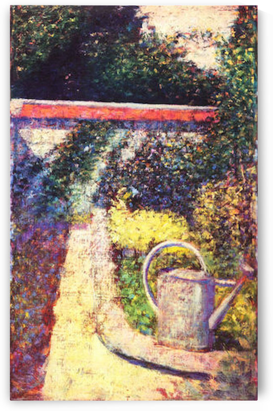 The watering can by Seurat by Seurat