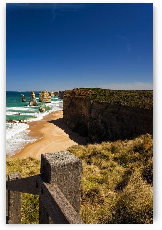 Vertical photo of the Twelve Apostles in Australia_011141267 by Maxwell Jordan