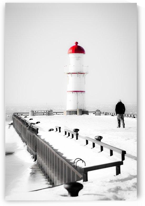 L'homme et le phare by Sophie Thibault