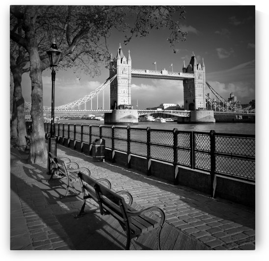 LONDON Thames Riverside & Tower Bridge by Melanie Viola