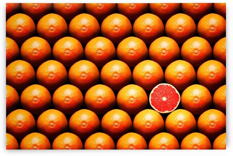 Grapefruit slice between group by Johan Swanepoel