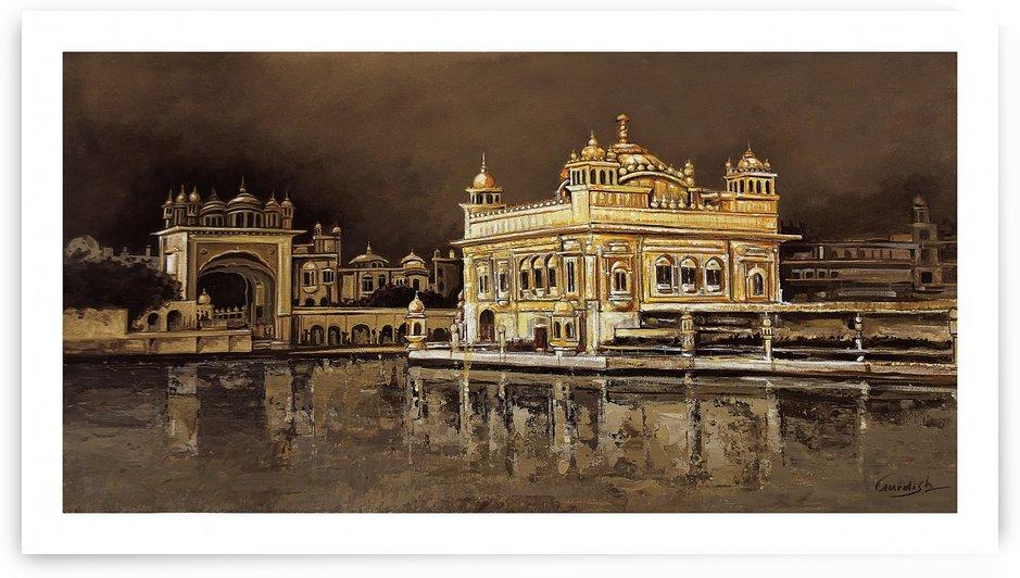 golden temple by Gurdish Pannu