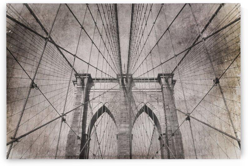 Vintage Brooklyn Bridge by dbriyul