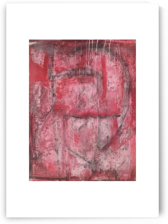 Red Heart Cave Large Production Print by Jon Mora