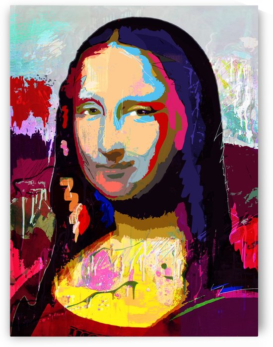 Mona Lisa by GABA