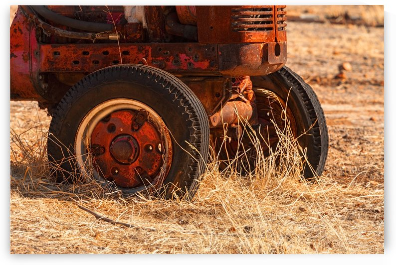Rusty Tractor A011101_1408503 by Maxwell Jordan