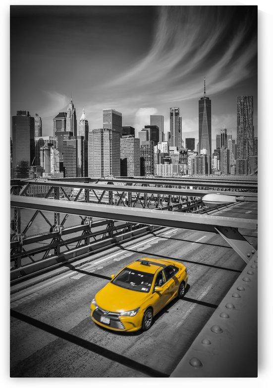 Brooklyn Bridge View by Melanie Viola