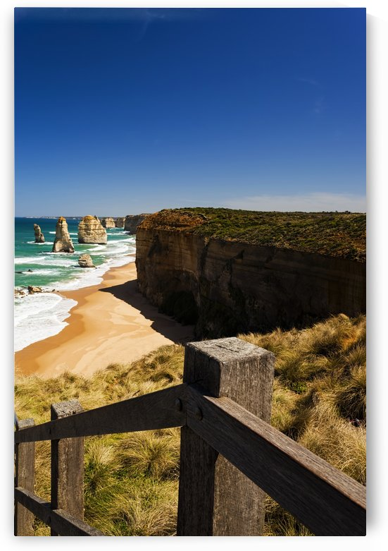 Vertical Photo of the Twelve Apostles with the Handrail_011141271 by Maxwell Jordan