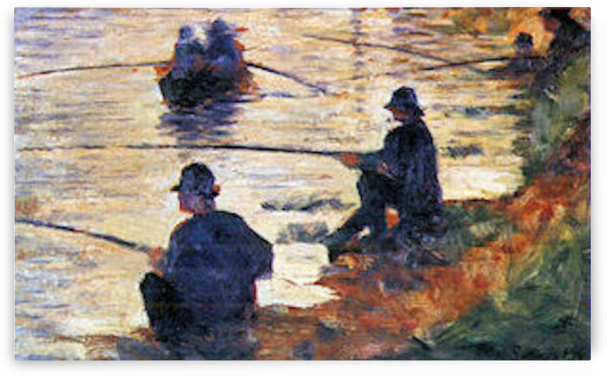 Two Fishermen by Seurat by Seurat