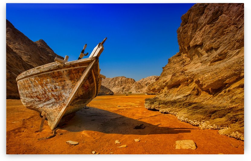 The lost ship - Yiti - Sultanate of Oman by Safak Yavuzlar