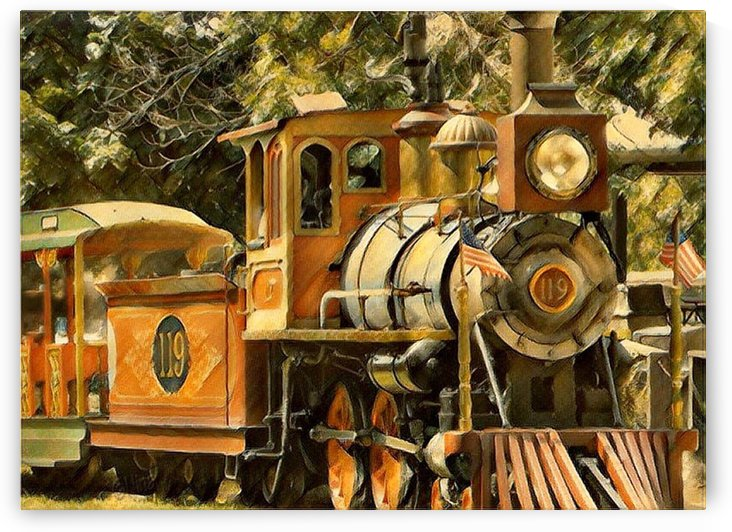 Henry Doorley Zoo Train by Nina