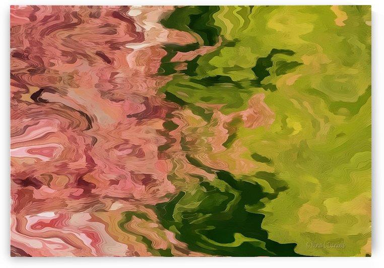 Pink Leaves by Nina