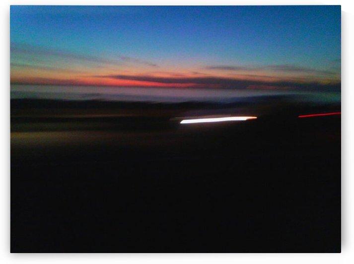 Night Streak by D - Mitch The Poet