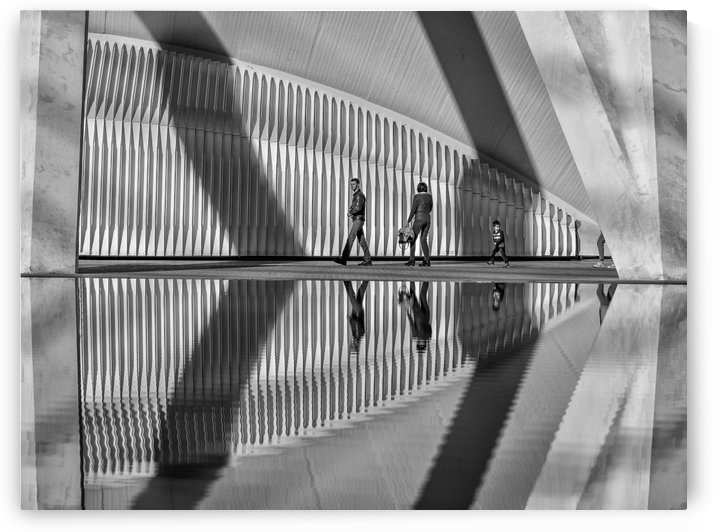 Valencia shadows by Keith Truman