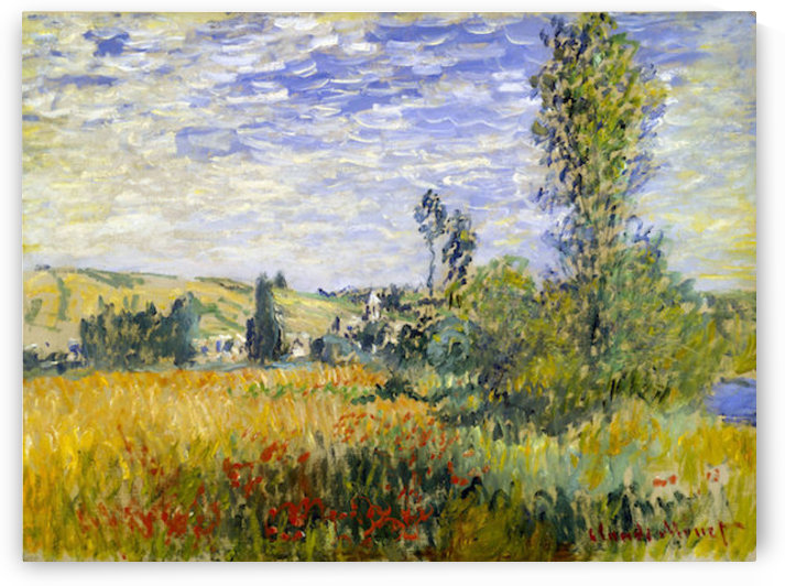 Vetheuil by Monet by Monet