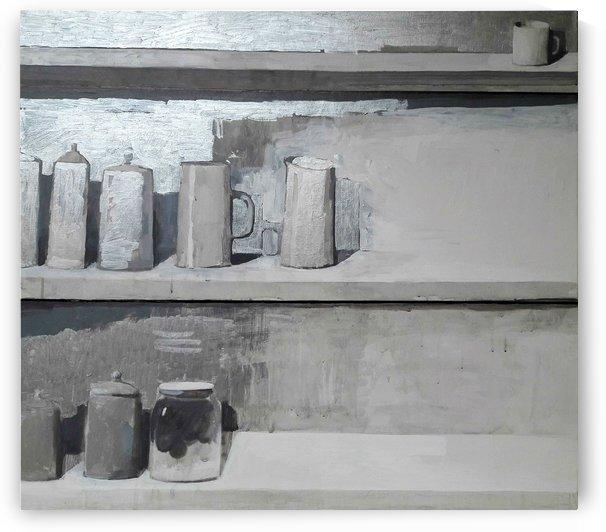 Silver Still Life by Zurab Gikashvili