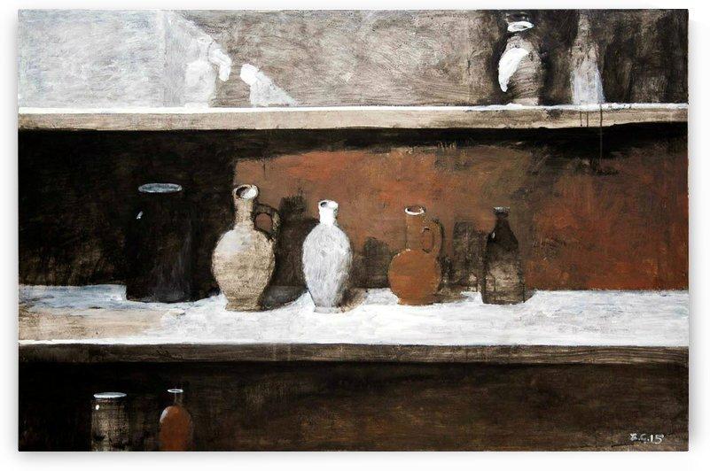 Brown Still Life by Zurab Gikashvili