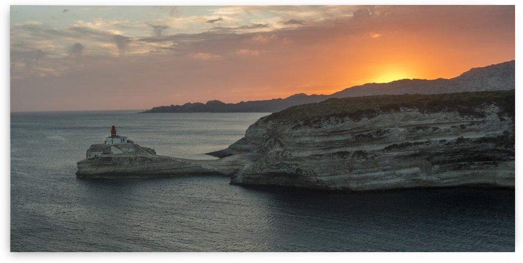 Sunset on Bonifacio  by Pietro Ebner