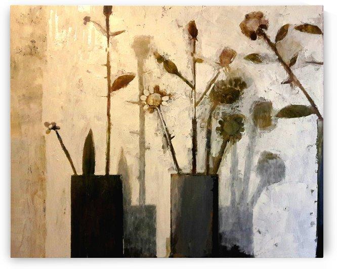 Bronze Flowers by Zurab Gikashvili