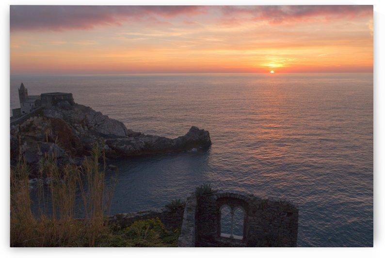 Sunset in Portovenere by Pietro Ebner