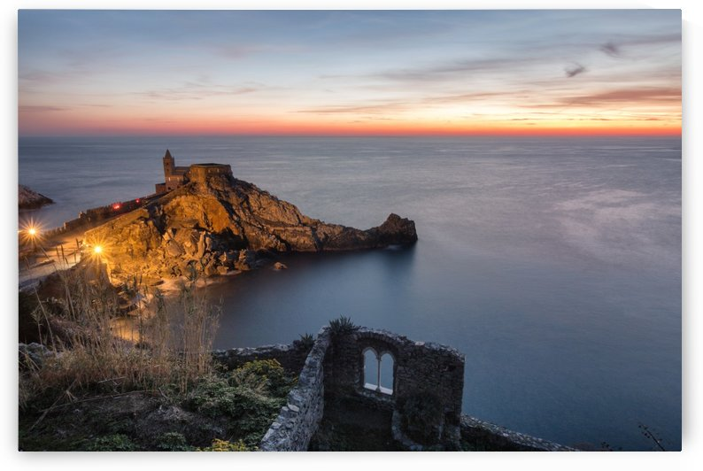 Sunset in Portovenere by Pietro Ebner