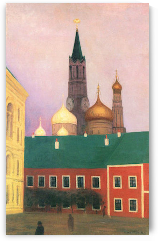 View of the Kremlin in Moscow by Felix Vallotton by Felix Vallotton