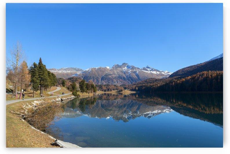 Lake of SIlvaplana by Pietro Ebner
