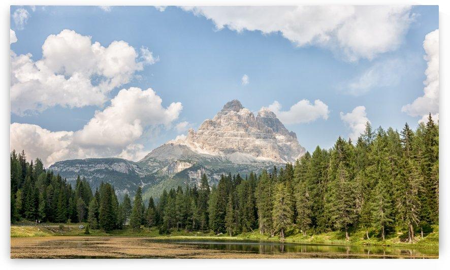 Landscape of Dolomiti by Pietro Ebner