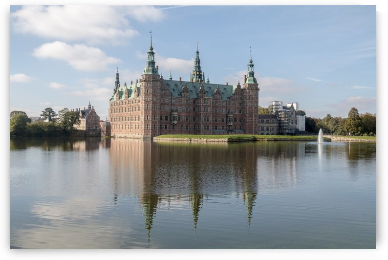 Castle of Frederiksborg  by Pietro Ebner