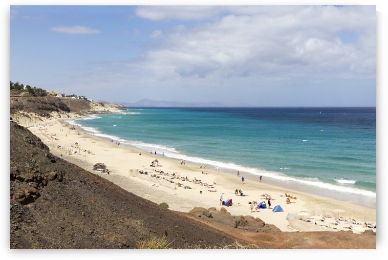 Butihondo beach in Fuerteventura by Pietro Ebner